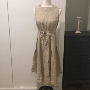 Dresses & Skirts - Korean Linen Sleeveless Mid-calf Long Dress